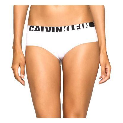 Dámské kalhotky Calvin Klein Seamless hipster bílé