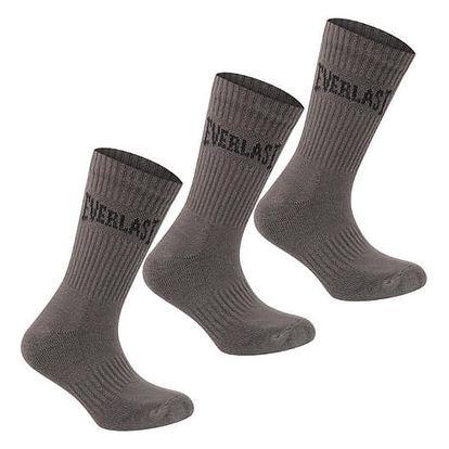 Pánské ponožky EVERLAST 3 ks hnědé