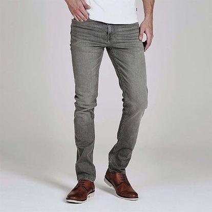 Značkové pánské džíny Firetrap šedé
