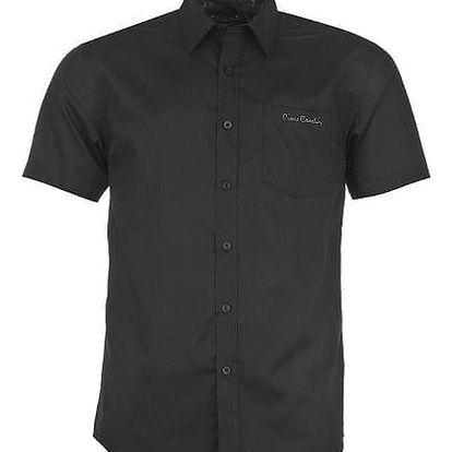 Pánská košile s krátkým rukávem Pierre Cardin vzor 2