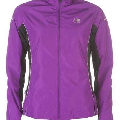 Dámská běžecká bunda Karrimor fialová