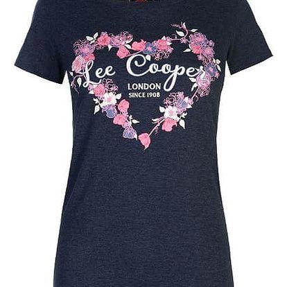 Značkové dámské triko Lee Cooper Fashion tmavě modré
