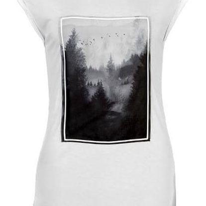 Značkové dámské triko Firetrap bílé