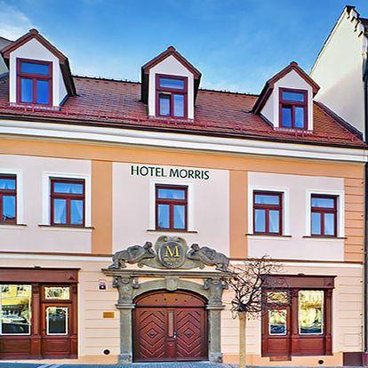 Vysněný odpočinek v luxusním 4* hotelu Morris Česká Lípa s wellness, soláriem, zábaly i polopenzí