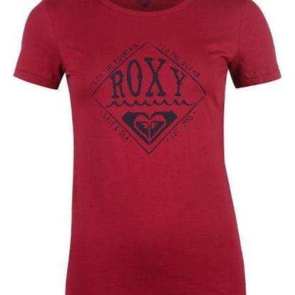 Značkové dámské triko Roxy Basic červené