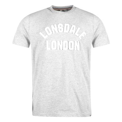 Značkové pánské triko Lonsdale HTG šedé