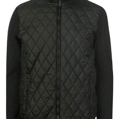 Značková pánská bunda Pierre Cardin khaki
