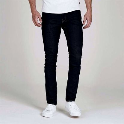 Značkové pánské džíny Firetrap tmavě modré