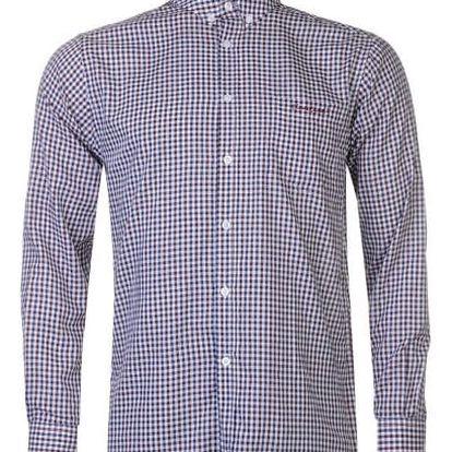Značková pánská košile Pierre Cardin Long vzor 1