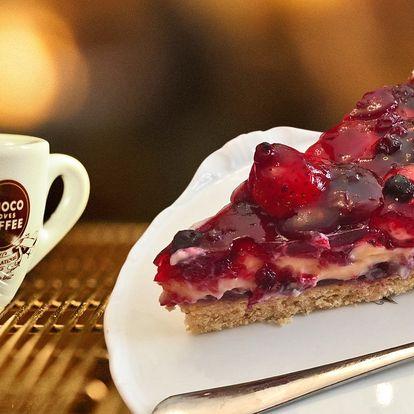 Posezení na Vinohradech: teplý nápoj a dezert