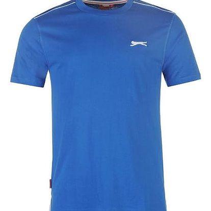 Značkové pánské triko SLAZENGER modré