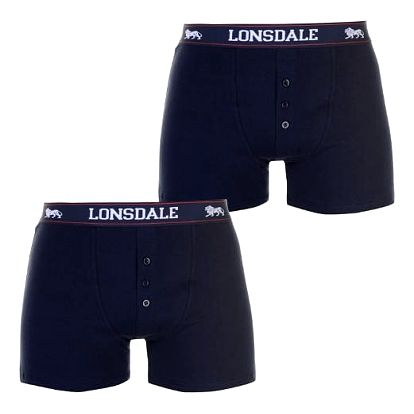 Pánské boxerky 2 LONSDALE 2 ks