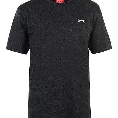 Značkové pánské triko SLAZENGER tmavě šedé