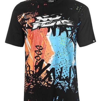 Značkové triko No Fear Motocross