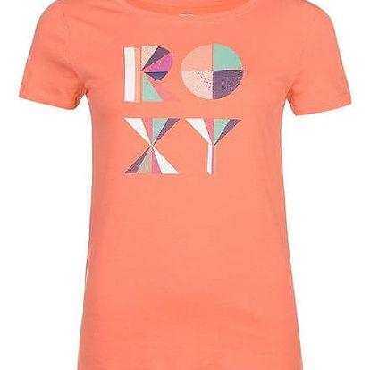 Značkové dámské triko ROXY růžové