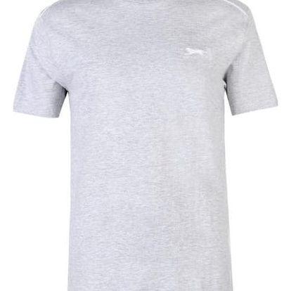 Značkové pánské triko SLAZENGER šedé
