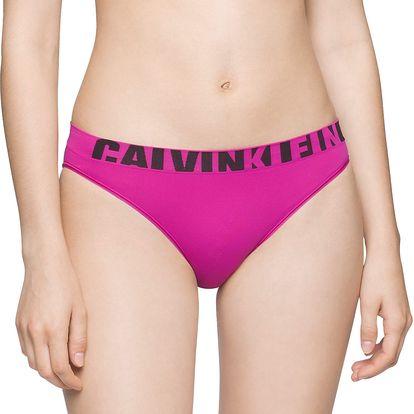 Dámská tanga Calvin Klein Seamless růžové