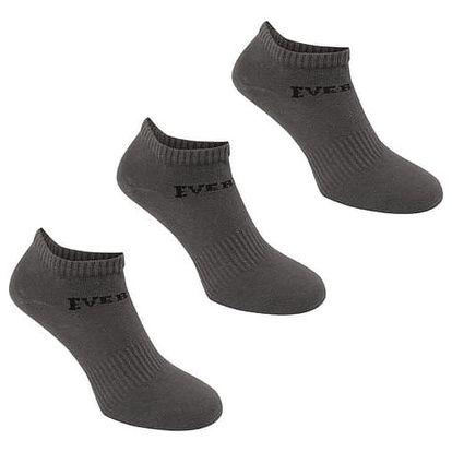 Pánské ponožky nízké EVERLAST 3 ks hnědé
