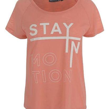 Značkové dámské triko Only Play Stay In broskev