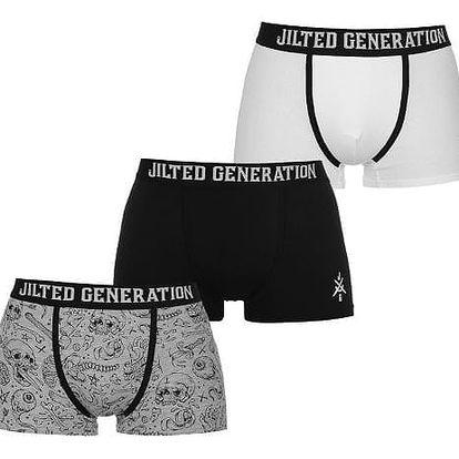 Pánské boxerky Jilted Generation 3 ks