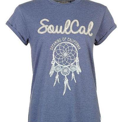 Dámské triko SoulCal modré