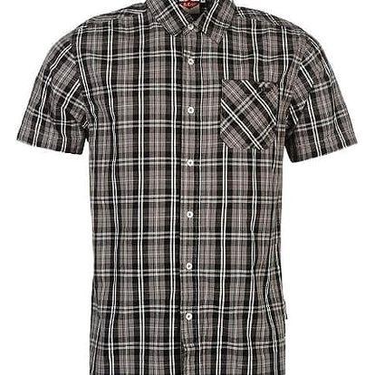 Pánská košile Lee Cooper Short šedá