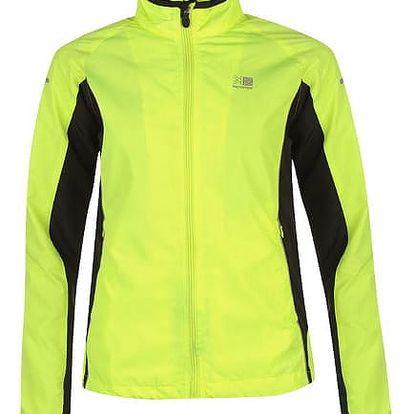 Dámská běžecká bunda Karrimor žlutá