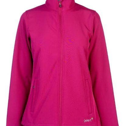 Dámská Softshellová bunda Geler růžová
