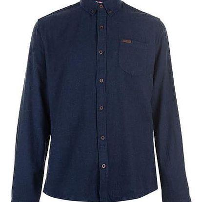 Pánská bavlněná košile Lee Cooper tmavě modrá
