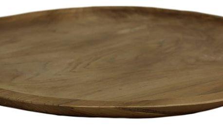 Podnos z teakového dřeva HSM collection Blank