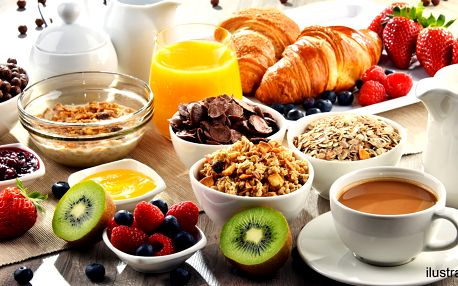 Snězte, co zvládnete: Bufetová snídaně pro 1
