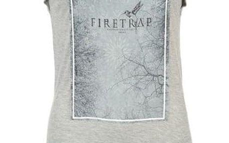 Značkové dámské triko Firetrap šedé