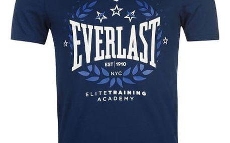 Značkové pánské triko EVERLAST modré