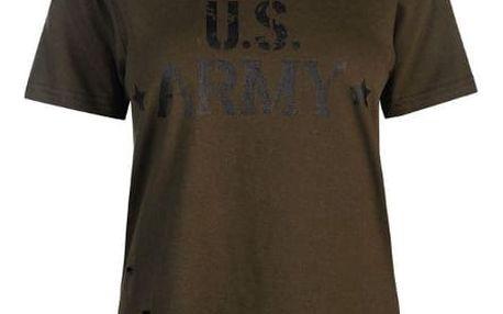 Dámské triko Golddigga Army khaki