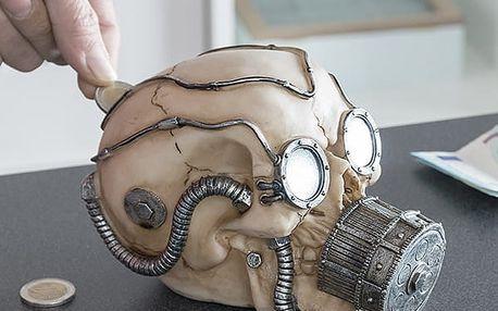 Pokladnička Lebka v Plynové Masce Gadget and Gifts