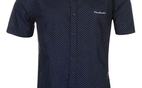 Pánská košile s krátkým rukávem Pierre Cardin vzor 1