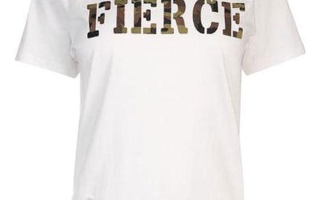 Dámské triko Golddigga Army bílé