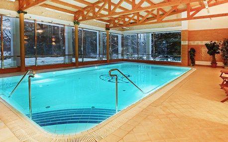 Relax v Mariánkách s bazénem a solnou jeskyní