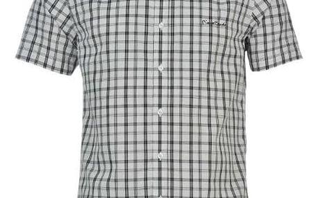 Pánská košile s krátkým rukávem Pierre Cardin vzor 8
