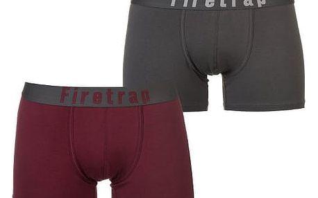Pánská boxerky 2 Firetrap 2 ks