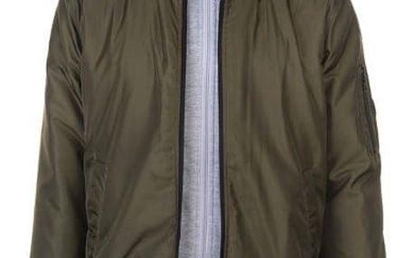Značková pánská bunda Lee Cooper SN81 khaki