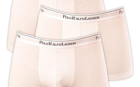 3PACK pánské boxerky Ralph Lauren bílá