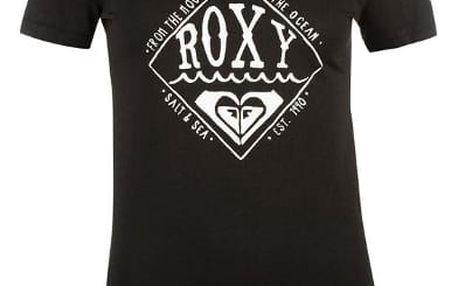 Značkové dámské triko Roxy Basic černé