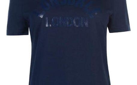 Značkové dámské triko LONSDALE modré