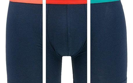 3PACK pánské boxerky Tommy Hilfiger 3P boxer brief barevné