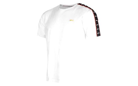Značkové pánské triko SLAZENGER retro bílé