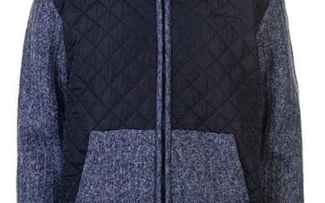 Značková pánská bunda Pierre Cardin Quilted modrá