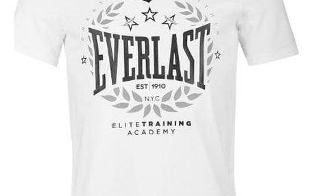 Značkové pánské triko EVERLAST bílé
