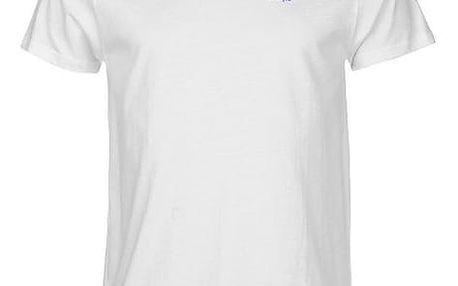 Značkové pánské triko LEE COOPER Crew bílé