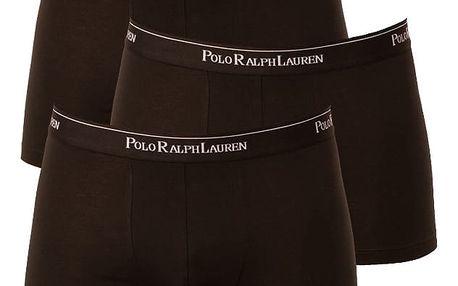 3PACK pánské boxerky Ralph Lauren černá